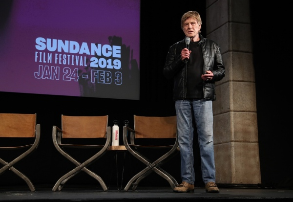 Day One Press Conference — Robert Redford
